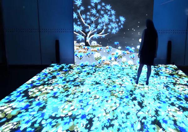 3D高清互动的花语四季