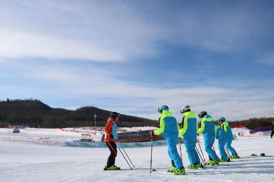 長白山魯能勝地滑雪場
