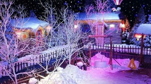 南武当冰雪城