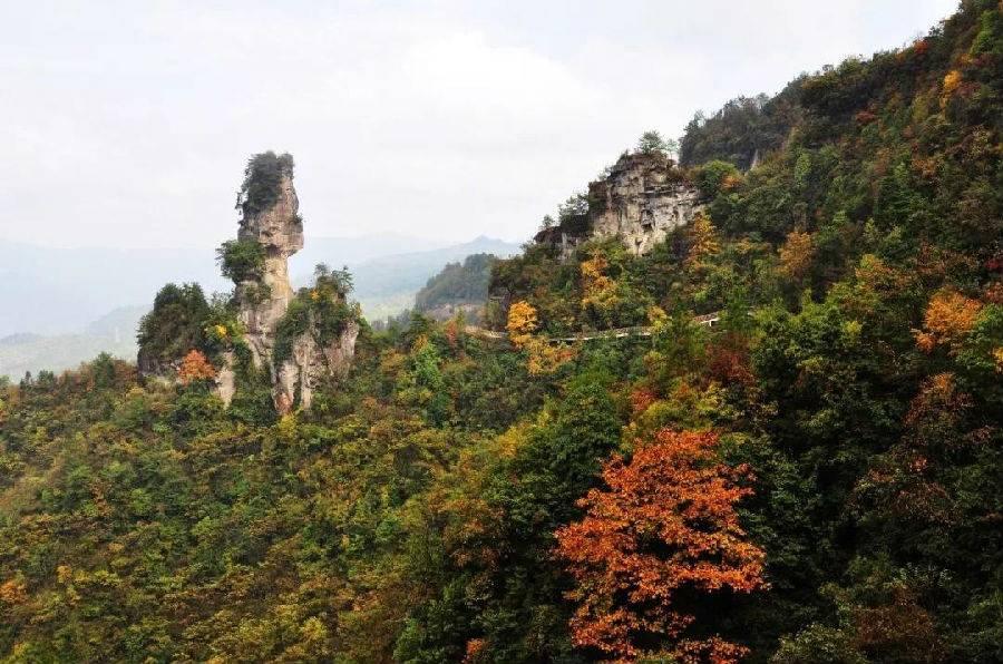 石柱万寿山景区