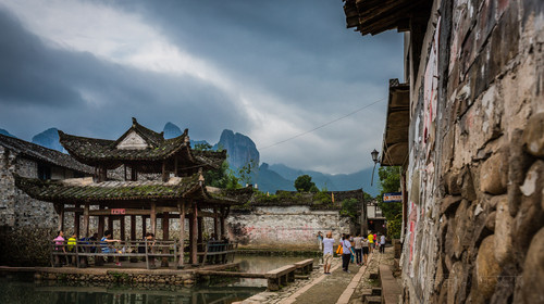 楠溪江风景旅游区