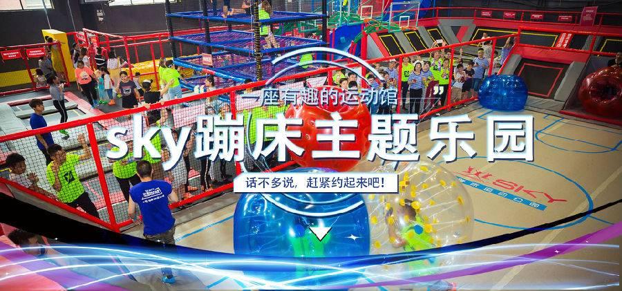 SKY蹦床运动公园 成人票(两小时;全民蹦床区)