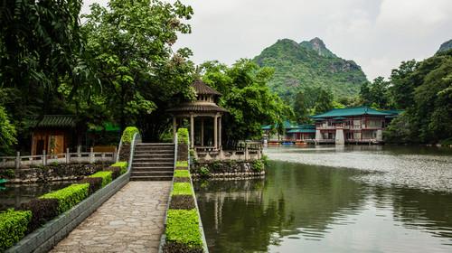 桂林西山景区
