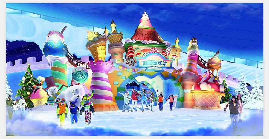 昆明融创乐园雪世界