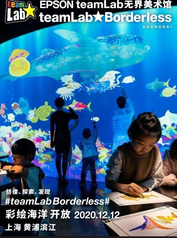【上海】EPSON teamlab无界美术馆:teamlab Borderless Shanghai