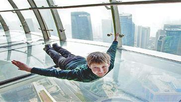 259米全透明悬空观光廊