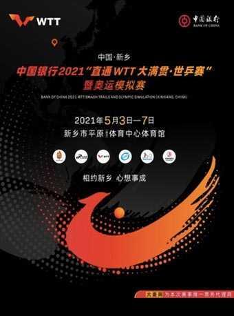 2021《直通WTT大满贯·世乒赛》