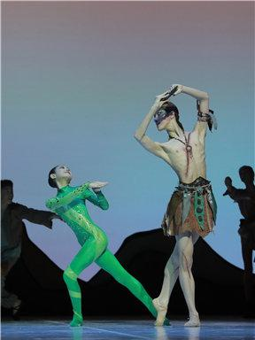 原创童话芭蕾舞剧《九色鹿》