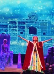 儿童亲子互动剧《冰雪女王·冬日魔咒》