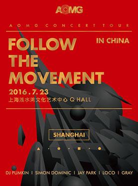 2016 AOMG FOLLOW THE MOVEMENT CONCERT IN SHANGHAI
