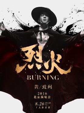 烈火·BURNING黄致列2016北京演唱会