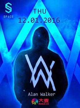 SPACE CLUB | 12/01 背影少年Alan Walker