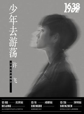 2016-2017 许飞《少年去游荡》巡回演唱会