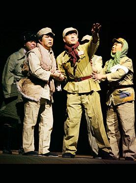 新疆兵团八师石河子艺术剧院歌舞团参演剧目大型历史话剧《兵团记忆》