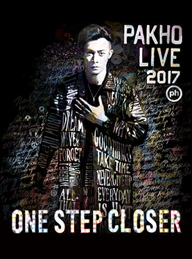 周柏豪ONE STEP CLOSER PAKHO LIVE 2017广州演唱会