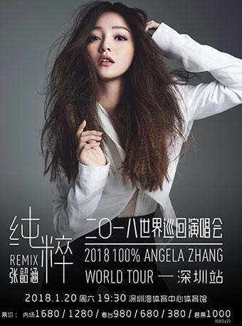 2018张韶涵纯粹Remix 巡回演唱会深圳站
