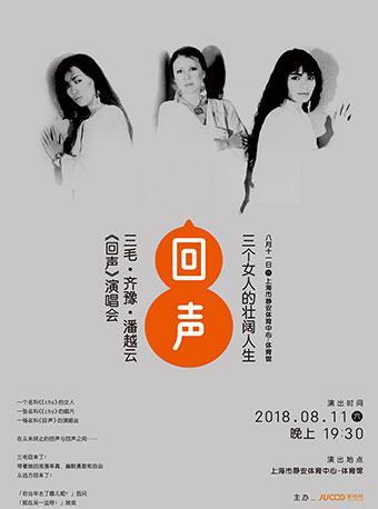 三个女人的壮阔人生--三毛•齐豫•潘越云《回声》巡回演唱会2018上海站