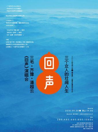三个女人的壮阔人生-三毛·齐豫·潘越云《回声》巡回演唱会2018武汉站