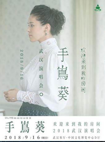 """""""欢迎来到我的房间""""2018手嶌葵武汉演唱会"""