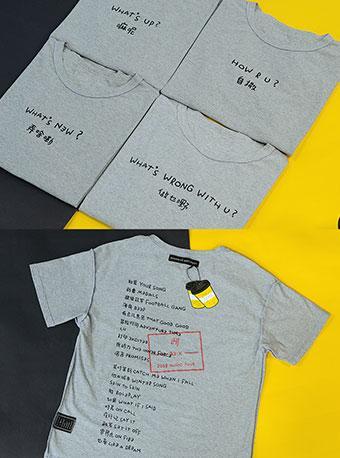"""鹿晗RE:X巡演限定""""勋章""""T-shirt"""