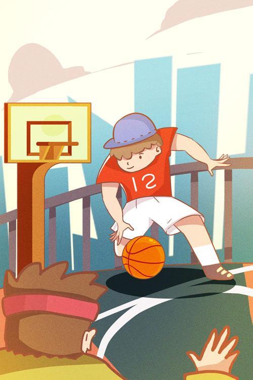 2次正式篮球课程,还送篮球!