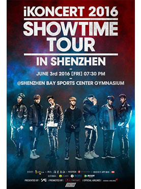 iKONCERT 2016 SHOWTIME TOUR IN SHENZHEN