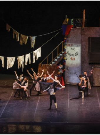 芭蕾舞剧《阿莱城的姑娘》《卡门》《仙女》