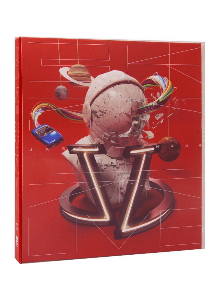 张杰专辑《未·LIVE》CD+收藏卡