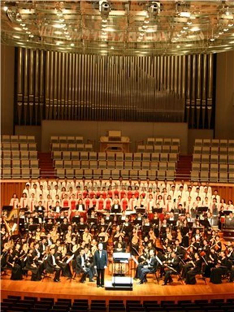 魏育茹与中央民族乐团音乐会