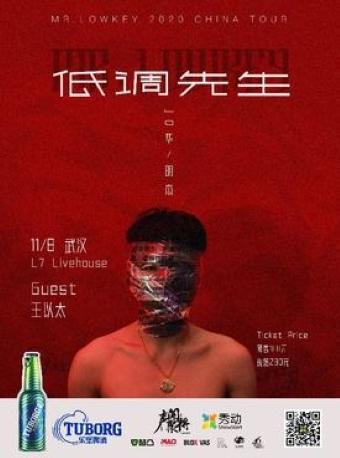 JD《低调先生》2020 巡演 武汉站
