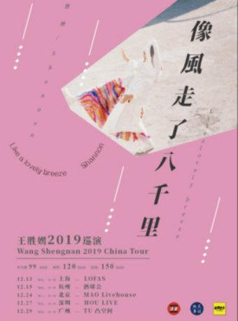 王胜娚 2019 巡演 杭州站