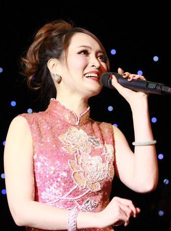 纪念邓丽君 爱的箴言 裴蕾上海演唱会