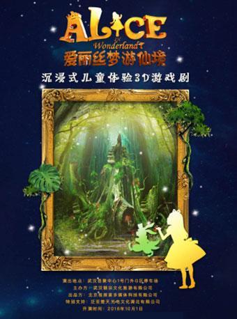 沉浸式儿童体验3D游戏剧爱丽丝梦游仙境