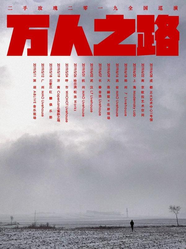 二手玫瑰2019巡演 南京站