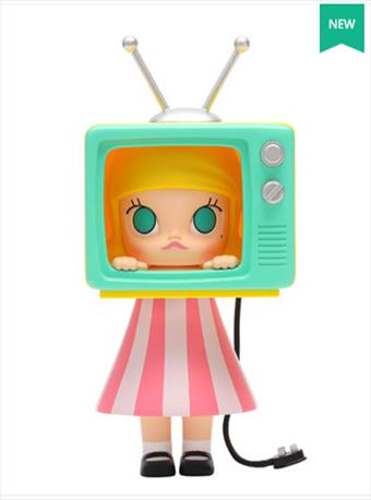 泡泡玛特TV时间系列手办公仔
