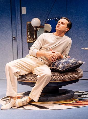 安德魯·斯科特主演戲劇《樂在當下》