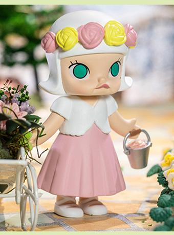 泡泡玛特 MOLLY婚礼花童系列盲盒