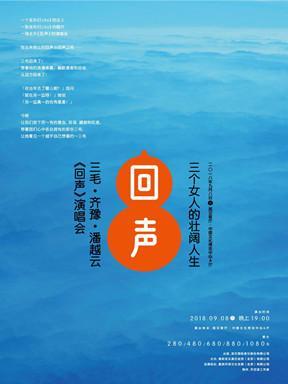 三毛·齐豫·潘越云《回声》武汉演唱会