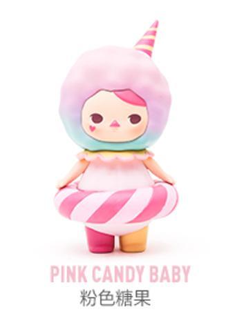 拆袋泡泡玛特毕奇泡泡圈粉色糖果
