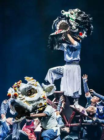 大型民族舞剧《醒狮》