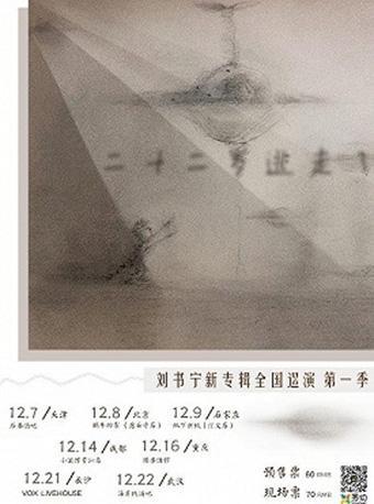 二十二岁逃走了 刘书宁新专辑巡演 武汉站