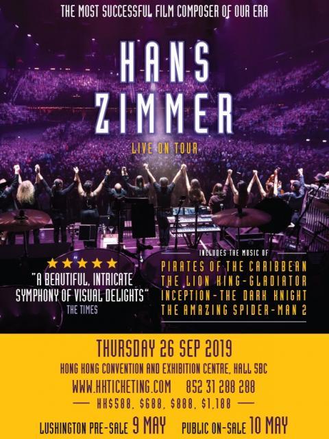 HANS ZIMMER 香港演奏会