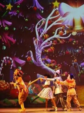 3D多媒体魔幻亲子音乐剧绿野仙踪之奥兹国大冒险