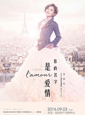 梁静茹·你的名字是爱情2016世界巡回演唱会—东莞站