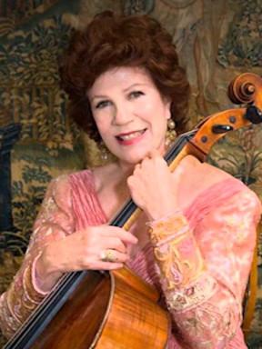 大提琴家瓦列芙斯卡音乐会