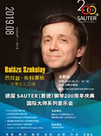 合肥SAUTER钢琴周年庆典之大师音乐会