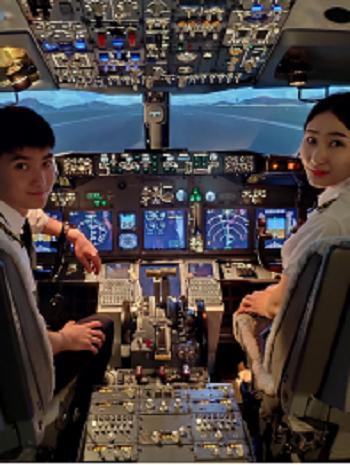 哈特曼航空波音737飞行驾驶体验