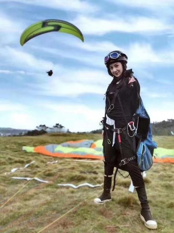 黑麋峰滑翔伞飞行体验