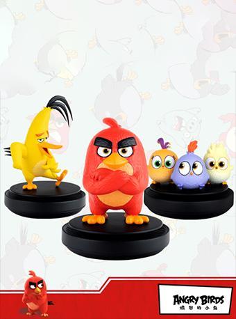 【正版】憤怒的小鳥2 手辦公仔