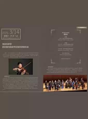 宓多里与琉森节日弦乐团音乐会